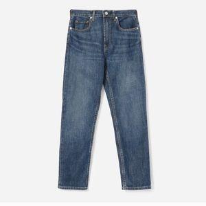 Everlane Cheeky Straight Jean. 27. Indigo